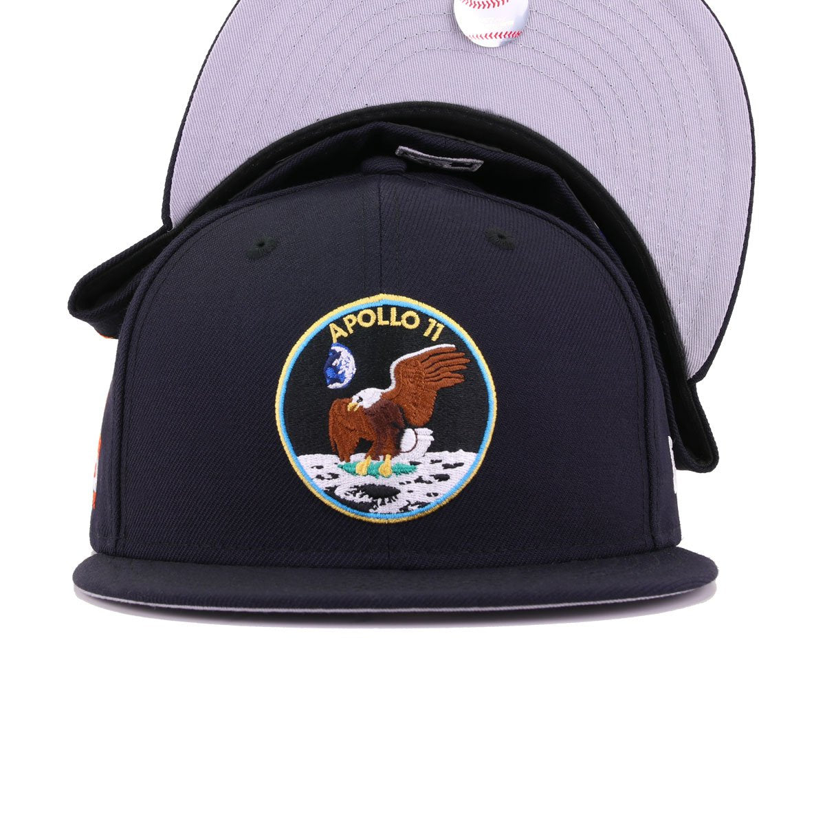 Houston Astros Navy Turn Back The Clock Apollo 11 New Era 59Fifty Fitted