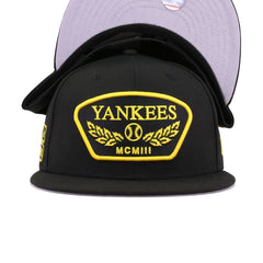 New York Yankees Black 1903 Veterans New Era 9Fifty Snapback