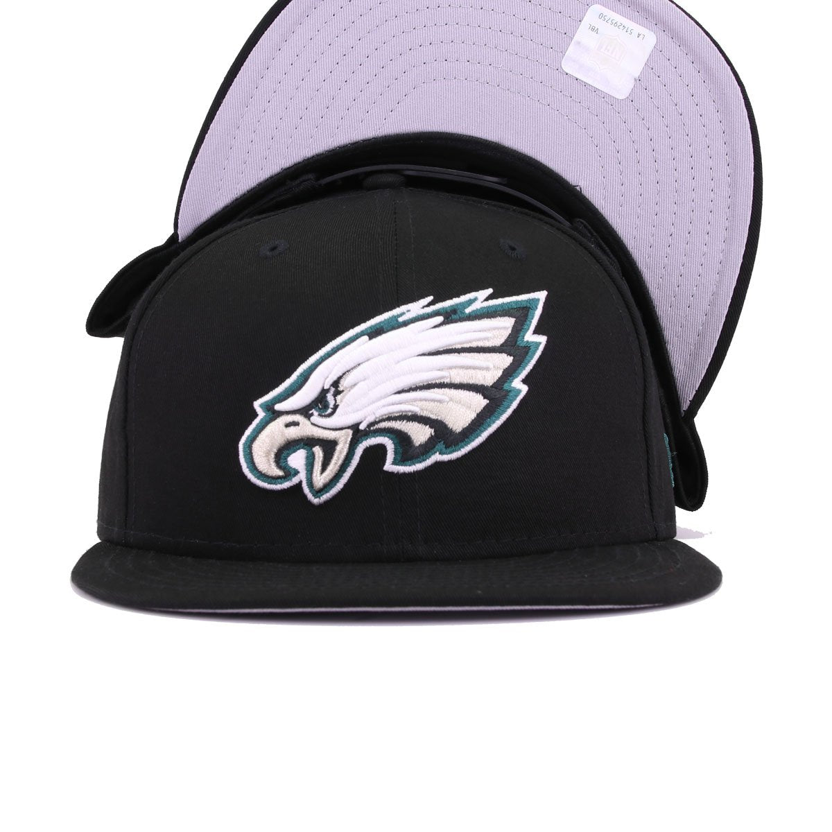 Philadelphia Eagles Black New Era 9Fifty Snapback