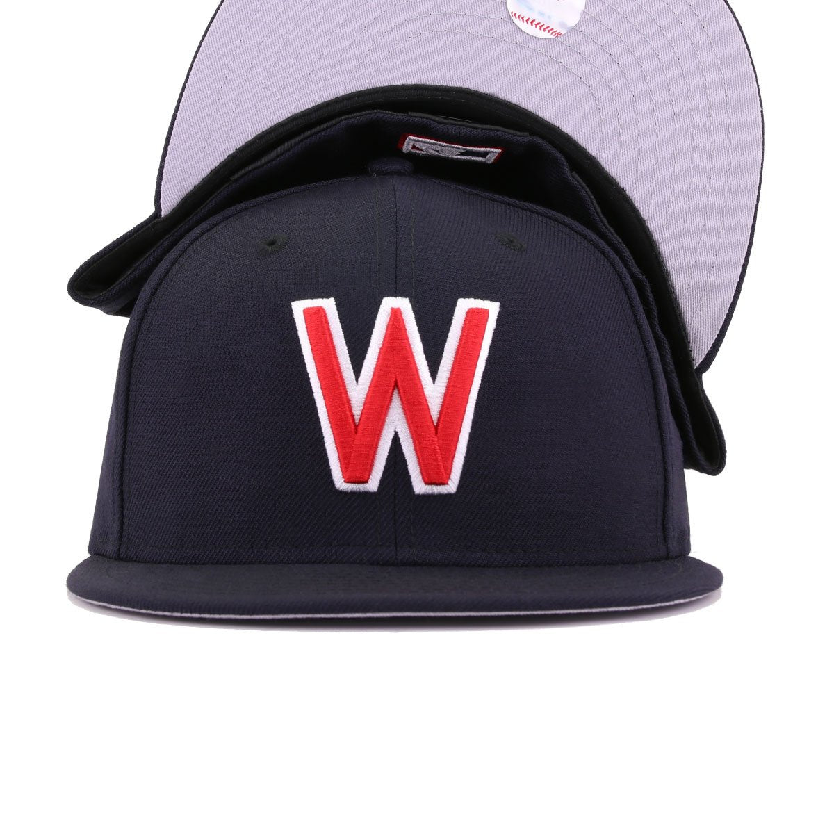 Washington Senators Navy New Era 59Fifty Fitted