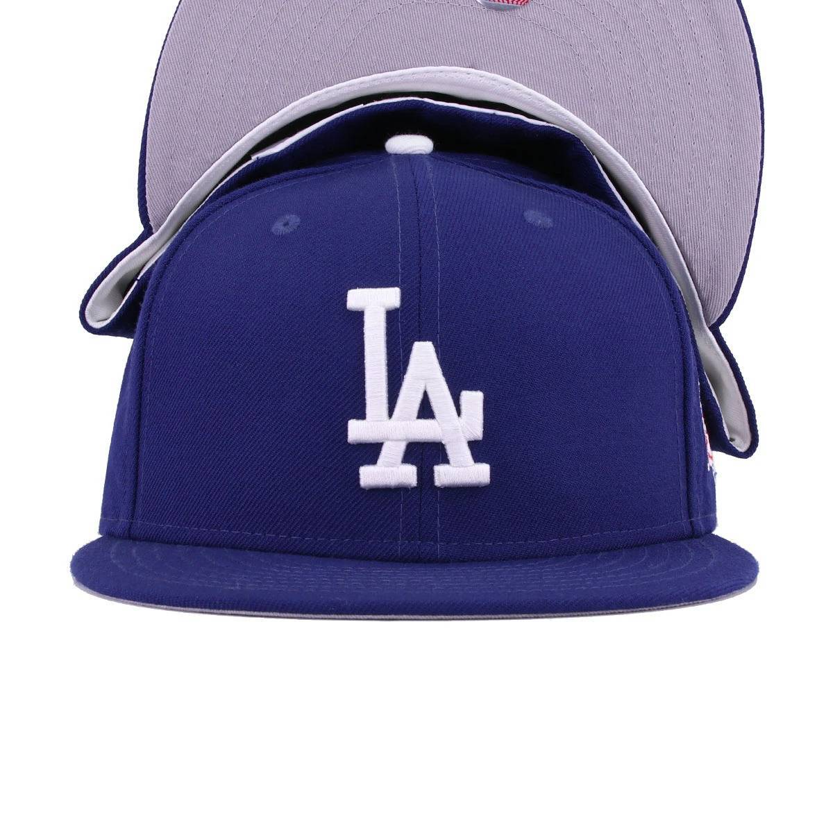 Los Angeles Dodgers Dark Royal 1988 World Series Cooperstown New Era 59Fifty Fitted