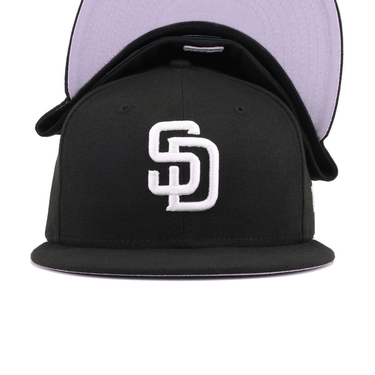 5f8cc985a0c San Diego Padres Black New Era 59Fifty Fitted