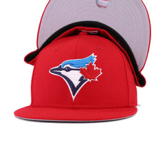Toronto Blue Jays Scarlet 30th Anniversary New Era 59Fifty Fitted