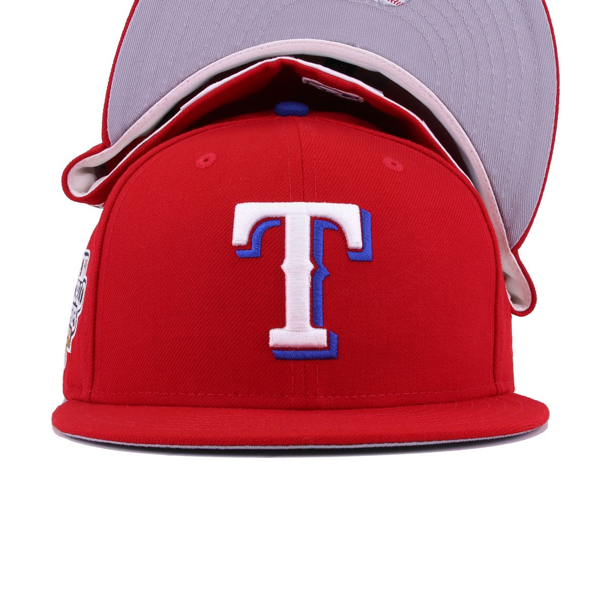 Texas Rangers Scarlet 2010 World Series New Era 59Fifty Fitted