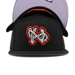 Norfolk Tides Black New Era 9Fifty Snapback