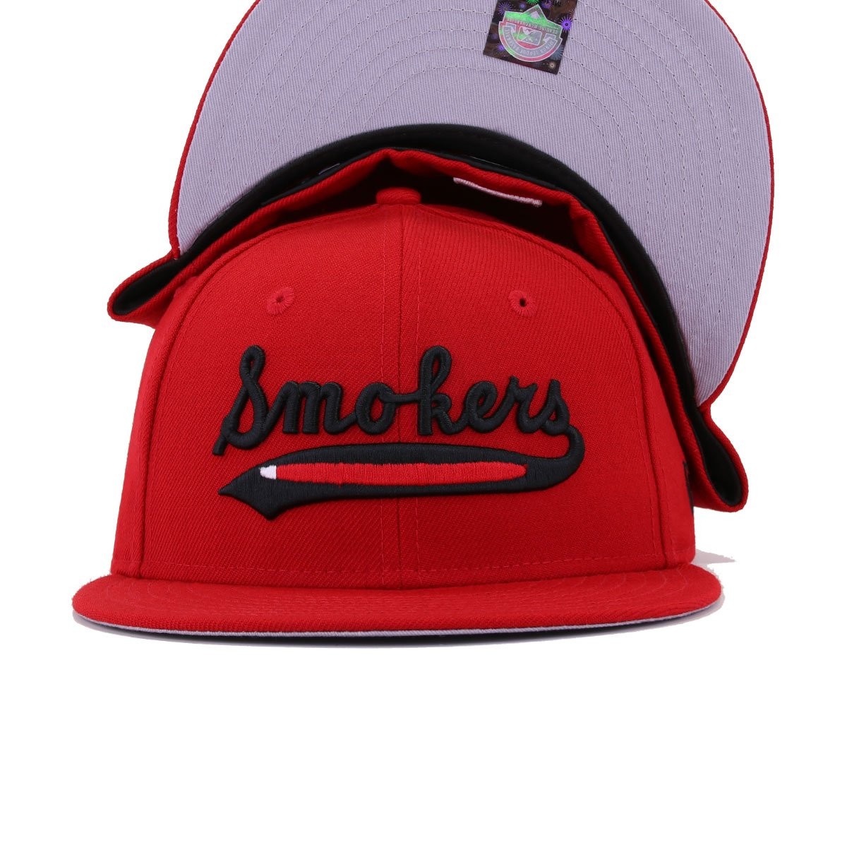 Tampa Smokers Scarlet New Era 59Fifty Fitted