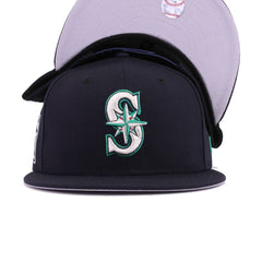 Seattle Mariners Navy 40th Anniversary New Era 9Fifty Snapback