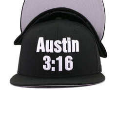 WWE Stone Cold Steve Austin Black 3:16 New Era 9Fifty Snapback