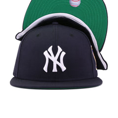 New York Yankees Navy 1953 World Series Cooperstown Green Bottom New Era 59Fifty Fitted