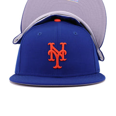 New York Mets Light Royal Blue Cooperstown New Era 59Fifty Fitted