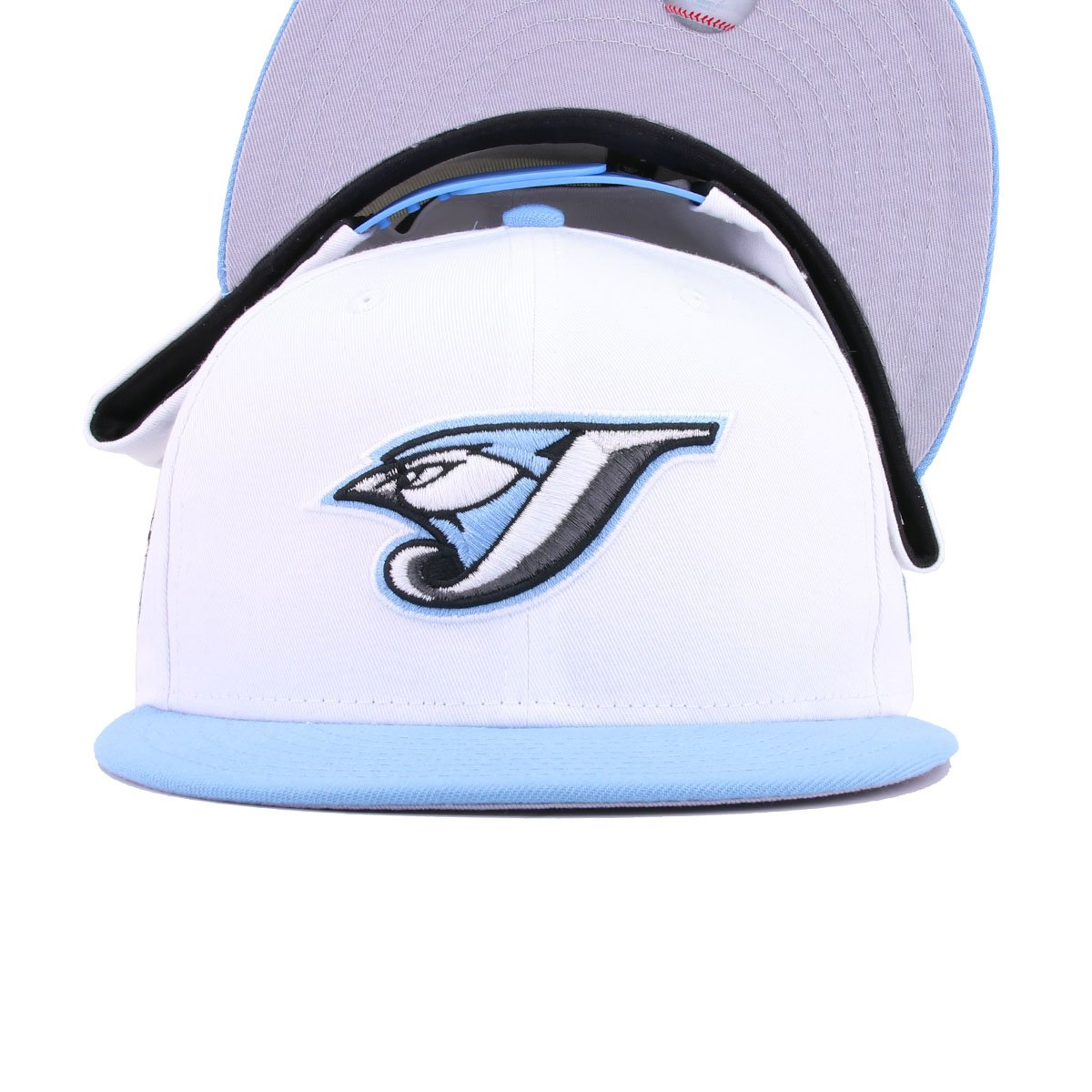 Toronto Blue Jays White Twill Sky Blue 30th Anniversary New Era 9Fifty Snapback