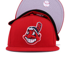 Cleveland Indians Scarlet Chief Wahoo New Era 59Fifty Fitted
