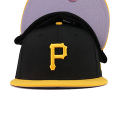 Pittsburgh Pirates Black A's Gold New Era 59Fifty Fitted