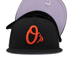 Baltimore Orioles Black Maryland State Flag New Era 9Fifty Snapback