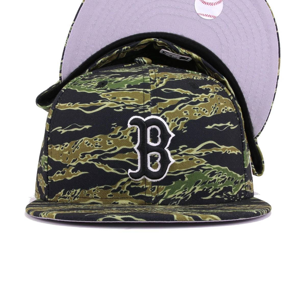 Boston Red Sox Tiger Camouflage New Era 59Fifty Fitted