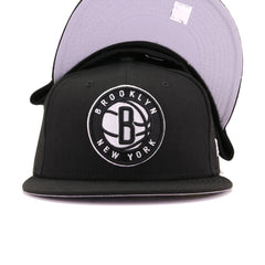 Brooklyn Nets Black New Era 59Fifty Fitted
