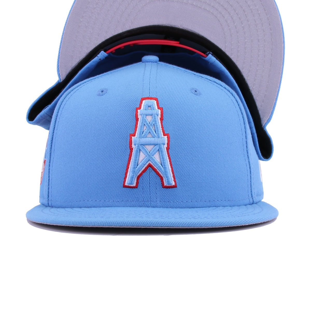 Houston Oilers Radiant Blue New Era 9fifty Snapback