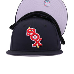 Chicago White Sox Navy Cooperstown New Era 59Fifty Fitted