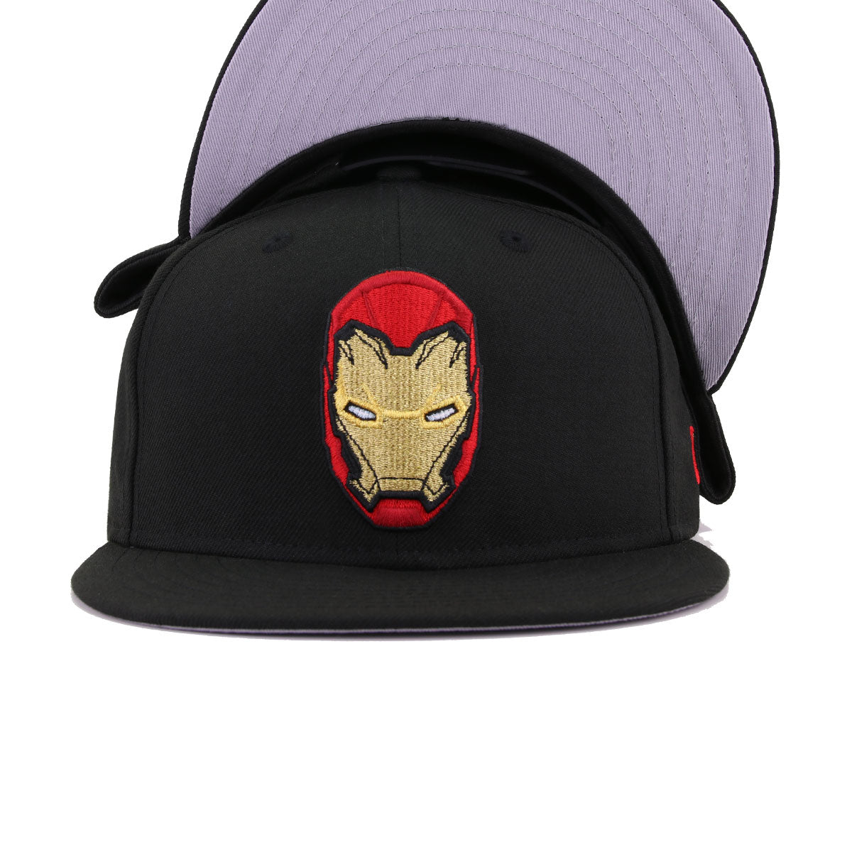 Marvel Comics Iron Man Black New Era 9Fifty Snapback