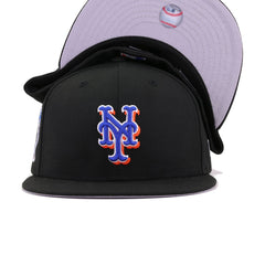 New York Mets Black 2000 World Series Subway Series New Era 59Fifty Fitted