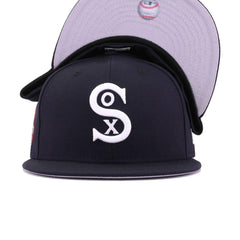Chicago White Sox Navy 1917 World Series New Era 59Fifty Fitted
