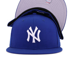 New York Yankees Light Royal Blue New Era 59Fifty Fitted