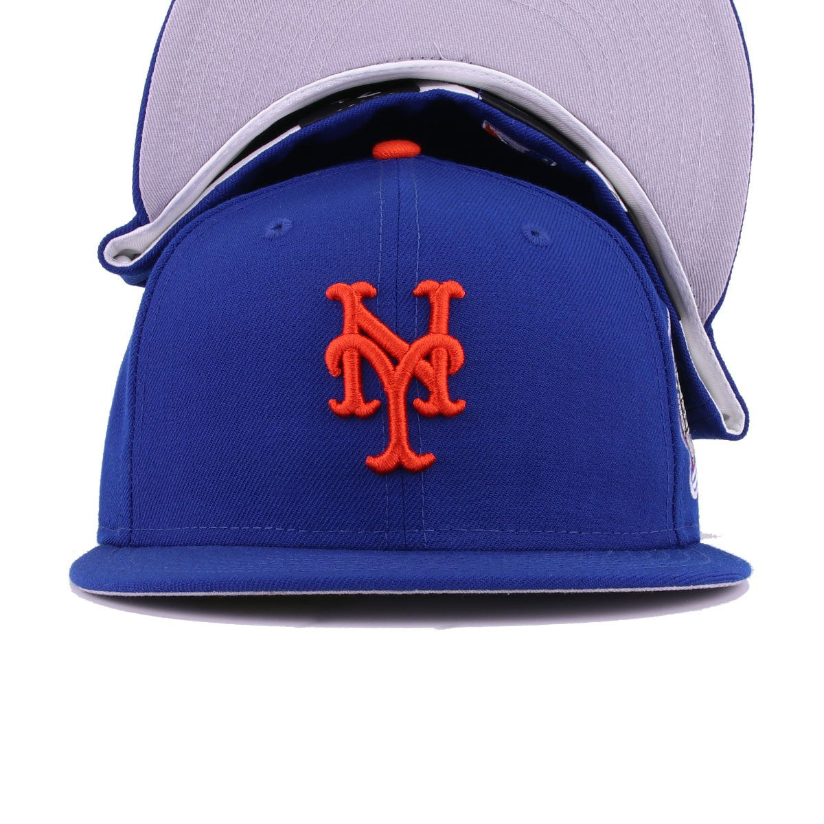 New York Mets Light Royal Blue Orangeade Subway Series 2000 World Series New Era 59Fifty Fitted