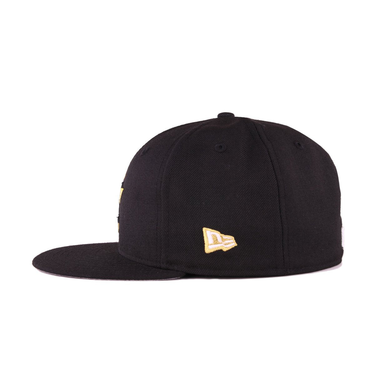 Houston Astros Black Metallic Gold New Era 59Fifty Fitted