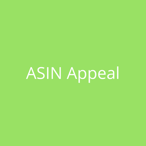Amazon ASIN Appeal