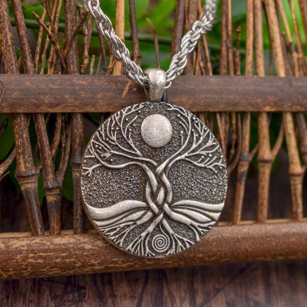 Moon Ritual Tree of Life Necklace