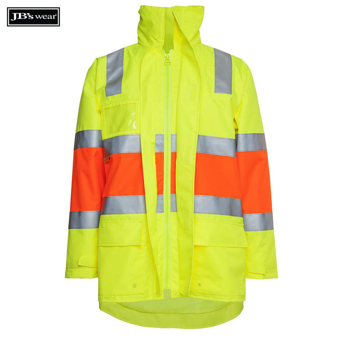 Image of JB's Wear Hi-Vis-Jackets, Style Code - 6DRP. Contact Bpromo for Screen Printing on this Product