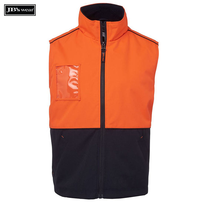 Image of JB's Wear Hi-Vis Vests, Style Code - 6HVAV. Contact Bpromo for Screen Printing on this Product