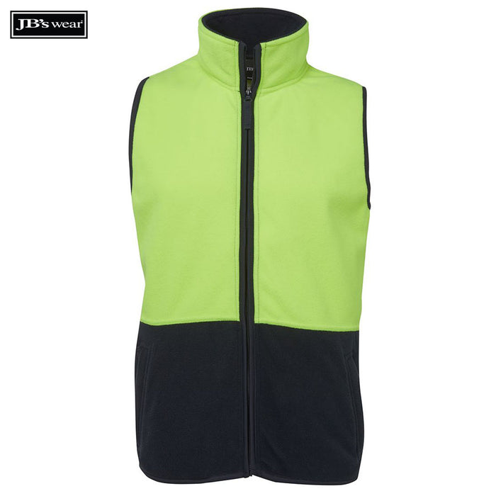 Image of JB's Wear Hi-Vis-Fleece, Style Code - 6HVPV. Contact Bpromo for Screen Printing on this Product