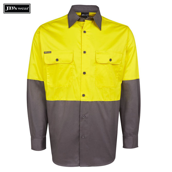 Image of JB's Wear Hi-Vis Shirts, Style Code - 6HWSL. Contact Bpromo for Screen Printing on this Product