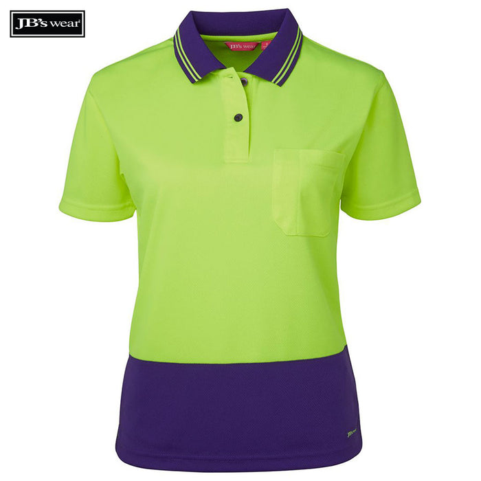 Image of JB's Wear Hi-Vis Polos, Style Code - 6LHCP. Contact Bpromo for Screen Printing on this Product