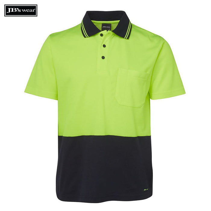 Image of JB's Wear Hi-Vis Polos, Style Code - 6NCCS. Contact Bpromo for Screen Printing on this Product