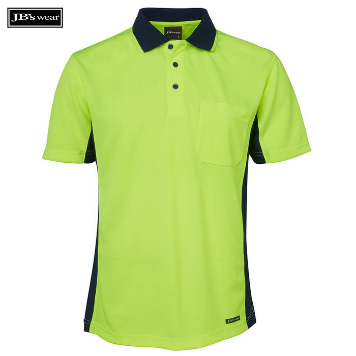 Image of JB's Wear Hi-Vis Polos, Style Code - 6SPHS. Contact Bpromo for Screen Printing on this Product