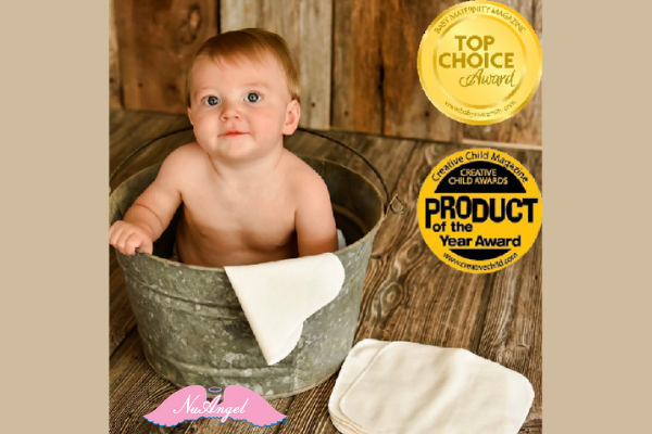 NuAngel Baby Washcloths has been awarded a 2020 PRODUCT OF THE YEAR AWARD!