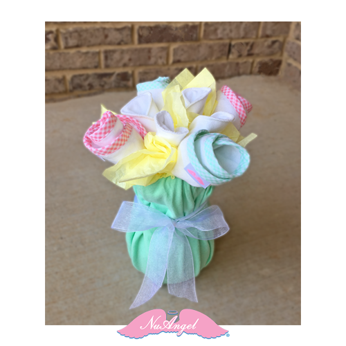 NuAngel DIY Baby Shower Flower Arrangement