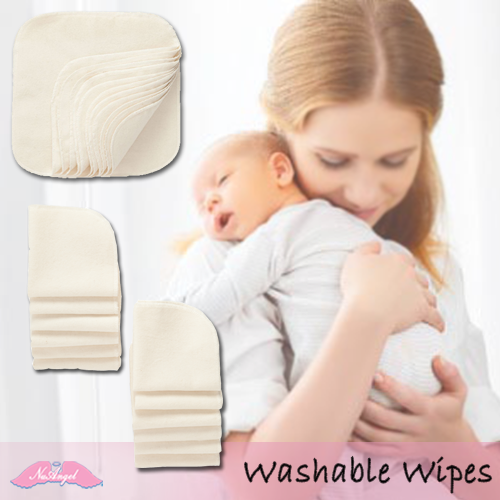 Why 100% Cotton Washable Baby Wipes?