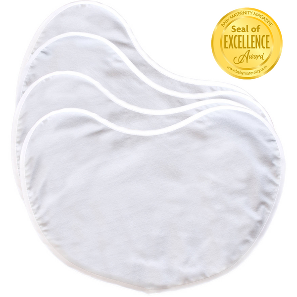 Large Contoured Burp Pads