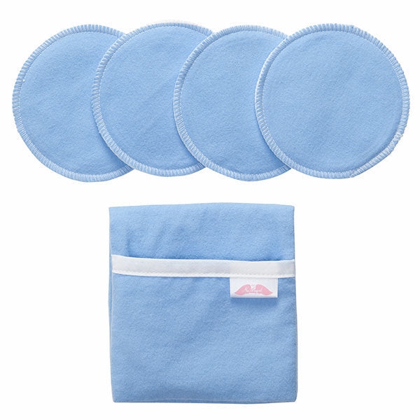 Flip and Go™ Nursing Pad Case with Four Matching Pads
