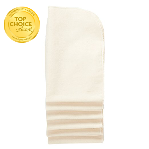 6ct natural burp cloths