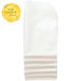 6ct white burp cloths