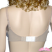 Bra Extender Attached to Bra