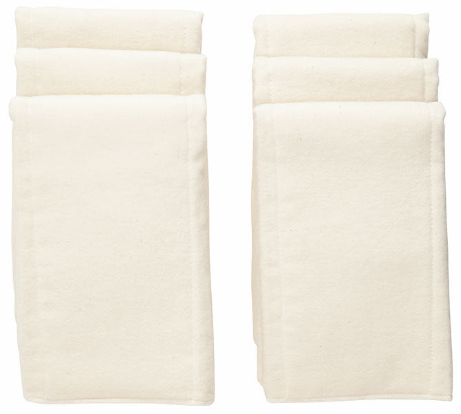 Natural Cotton Pre-fold Diaper - 6 Per Package