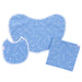 "Blue ""Jesus Loves Me"" Angel Baby Gift Set Items"