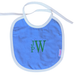 Bib with monogram