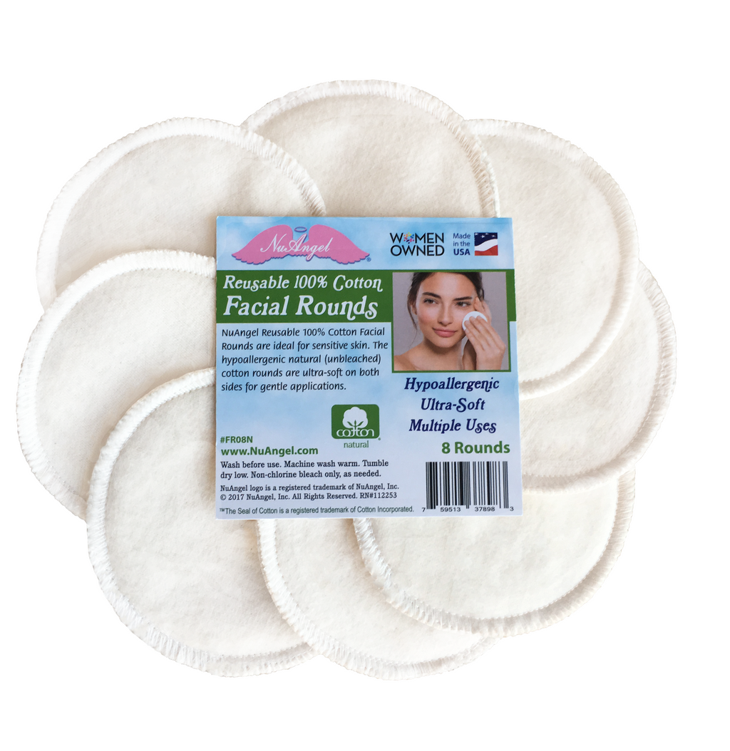 cotton makeup removal cosmetic pads