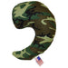 large camo support pillow